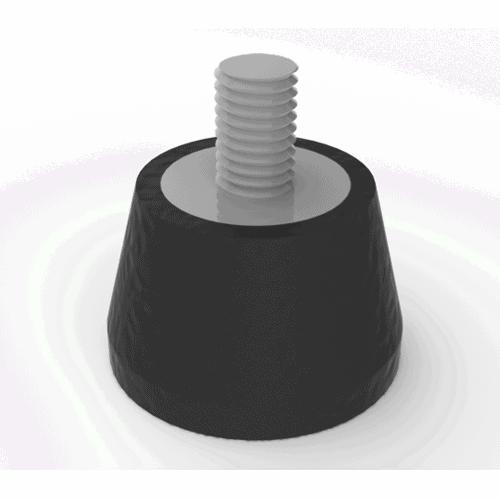 Plots antivibration pour vibreurs